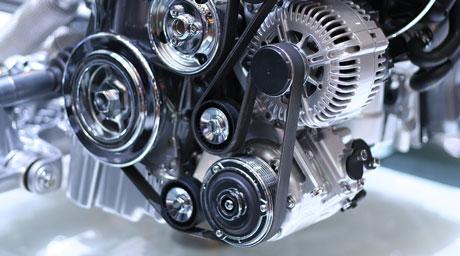 Motor mașină în vedere parțială - Siruti Service Auto Tulcea